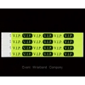 100 x Yellow VIP Tyvek Wristbands